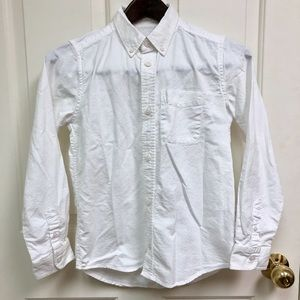 Children's Place White Button Shirt